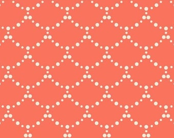 Ripples Coral by Art Gallery Fabrics