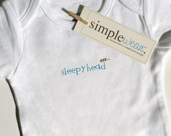 sleepyhead baby bodysuit