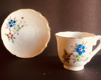 Vintage Toy Teacup and Saucer Made in Japan