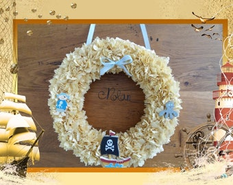 wall decor - door wreath - nolan