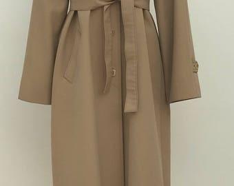 Original vintage trench coat, 70s, boho