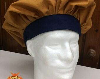 Renaissance Muffin Cap - Bronze/Navy