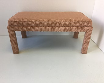 Coffee Table/Ottoman With Inset Cushion Top - Design Your OWN