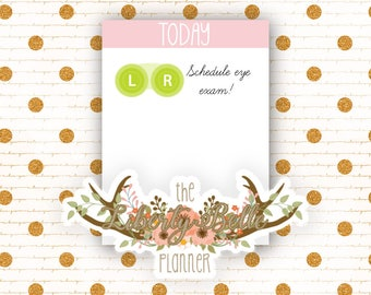 Rainbow Contact Case Tracking Functional Planner Stickers for Erin Condren, Plum Paper, Recollections, and Happy Planner Planners (013)