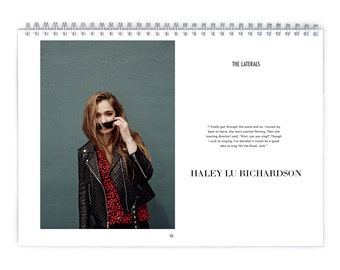 Haley Lu Richardson Vol.1 - 2018 Calendar