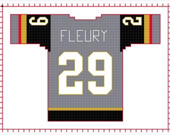 Marc Andre Fleury Vegas Golden Knight Home Jersey