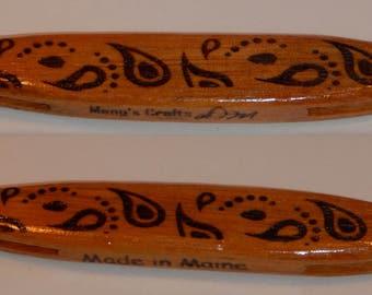 Celtic Tatting Shuttles (Laser Engraved)