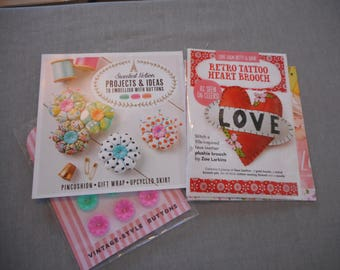 Sewing Craft Kits for you to sew from Molly Makes Magazine