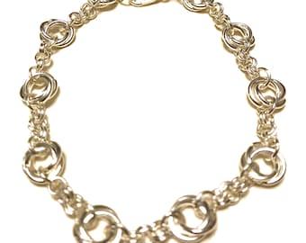 Rose Chain Bracelet