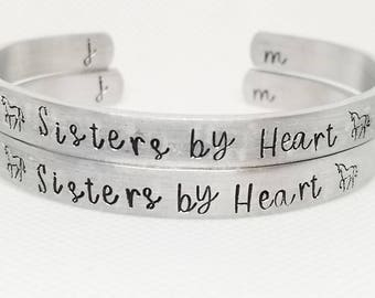 Sisters by Heart Matching Bracelet(s)
