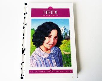 Heidi by Johanna Spyri / Hardcover Book Illustrated Storybook/ Classic Children's Tale of Switzerland
