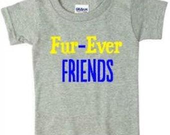 Toddler T-Shirt Fur-Ever Friends