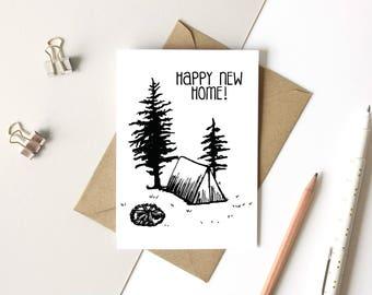 Pen + Ink: Happy New Home!