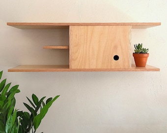 Floating Entryway Cabinet