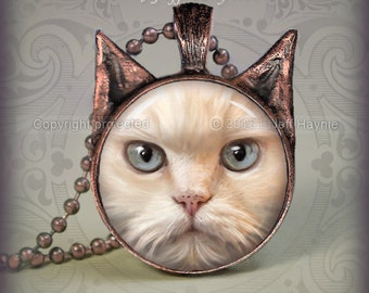 PEFP Buff Flamepoint PERSIAN CAT Pendant