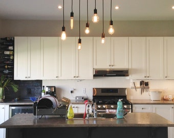 Chandelier Kitchen Lights Hanging pendant lights and chandelier lighting by hangoutlighting 7 pendant wood chandelier kitchen island chandelier kitchen lighting hanging kitchen pendants workwithnaturefo