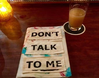 Don't Talk To Me Book Cover