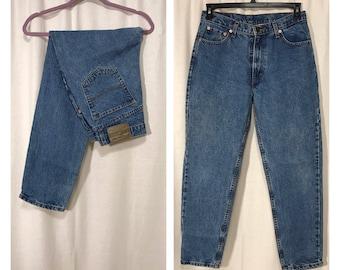 Vintage Jeans, High Waist Jeans, 90s Denim, Vintage Jordache Jeans