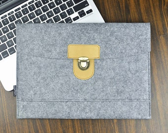 Macbook pro hard case, Felt laptop sleeve, Macbook Pro 17 case, 17 inch laptop bag,Macbook air sleeve,Macbook Pro cover, Customize bags,3B88