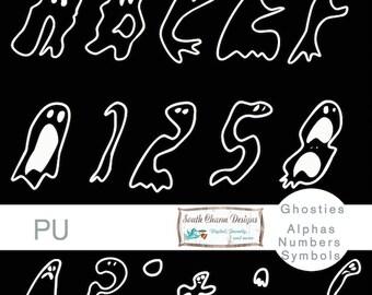 Digital Alphas Groovy Ghosties