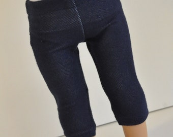 Denim  Capri Length  Leggings  Jeggings 18 Inch Doll Clothes made to fit 18 inch dolls such as American Girl