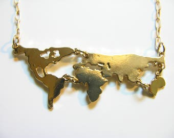 World Necklace, Continents, Travelust