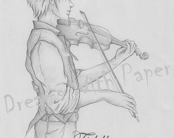 Drawing the Fiddler on the Roof (Musical Fiddler on the Roof)