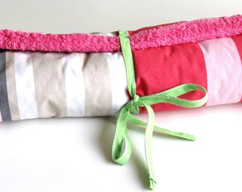 changing pad pink rolling Nomad