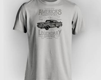 Tribute to the All American Highway (ALL Color Combinations Available - Just Ask!)