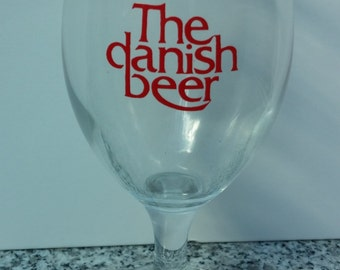 Ceres Danish Beer Pilsner Footed Glass
