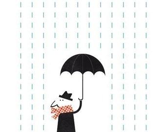 It's raining. (Mr.)