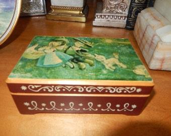 SWITZERLAND MUSIC JEWELRY Box