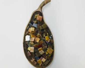 Firewood (1 Pound Mosaic Tiles: 600-700 Pieces)