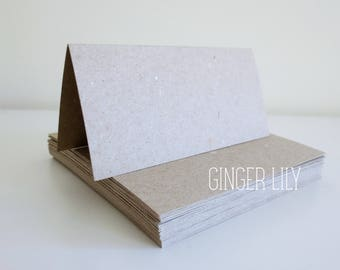 Rustic Wedding Place Cards - BLANK Pack of 25