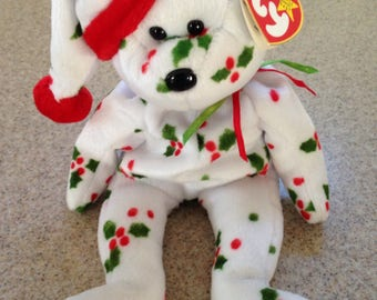 Vintage ty 1998 Holiday Teddy