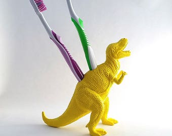 T-Rex Dinosaur Toothbrush Holder