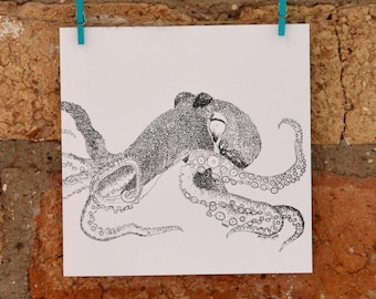 Illustrated Octopus Card