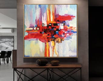 Oil Painting, Palette knife, Art Painting, Oil Large Art, Painting, Original art, Painting On Canvas, Canvas Art, Large Art, On Canvas