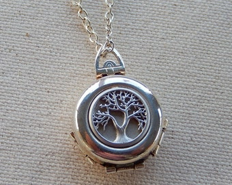 4 Photo Locket, Family Tree Locket, Folding Locket, Mother's Day, Birthday, Special Occasion, Gift for Her