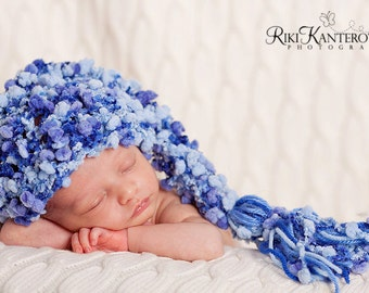 Baby Boy Hat - Gorgeous Baby Stocking Hat Great Colors & Fun Texture - 5 COLOR CHOICES