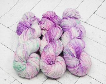 Heffalumps and Woozles Hand Dyed Superwash Sock Yarn