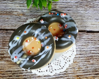 Donut soap, Doughnut Soap, Foodie gift, Kids Soap, Sprinkle Soap, Dessert soap, Fake Food Soap, Kids party favors, Novelty Soap