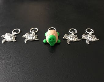 Sea Turtles themed stitch markers