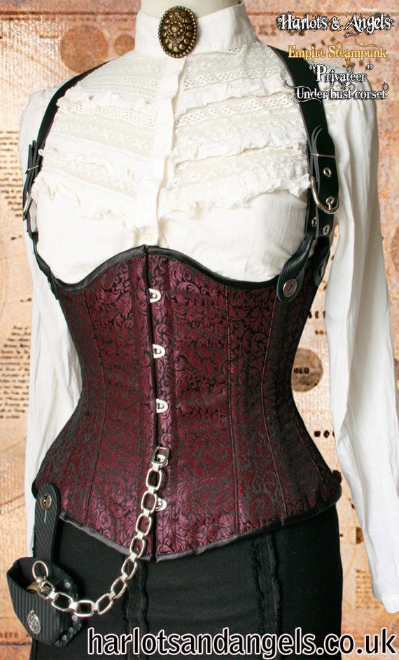 Victorian Under Bust Corset Pattern, Instant Digital Download ...
