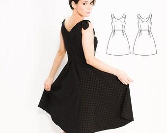 Simple Dress Pattern, Dress Patterns Women, Dress Pattern PDF, Dress Pattern for Women, Vogue Sewing Patterns Plus Size  Sewing Patterns PDF