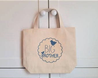 Big brother tote, Hospital bag, New brother gift