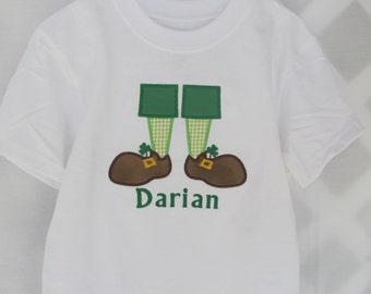 Boys St Pattys Shirt*****Please Read Shop Announcement*****