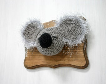 Crochet Taxidermy Koala