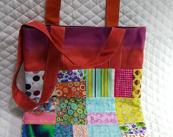 Tote - Scrap Quilted