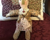 Folk ArtPrimitive Cloth Doll